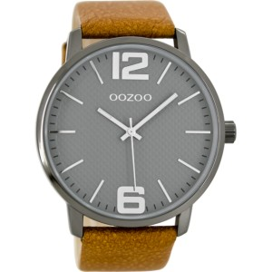 Montre Oozoo Timepieces C8502 brown/grey - Montre de la marque Oozoo