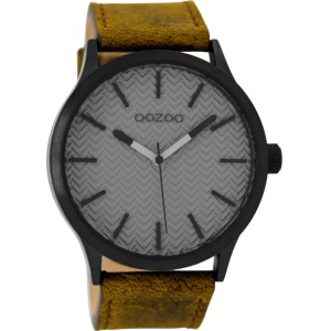 Montre Oozoo Timepieces C9017 brown/grey - Montre de la marque Oozoo