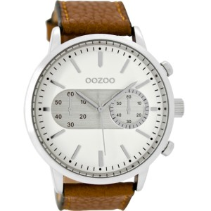 Montre Oozoo Timepieces C9055 brown/white - Montre de la marque Oozoo