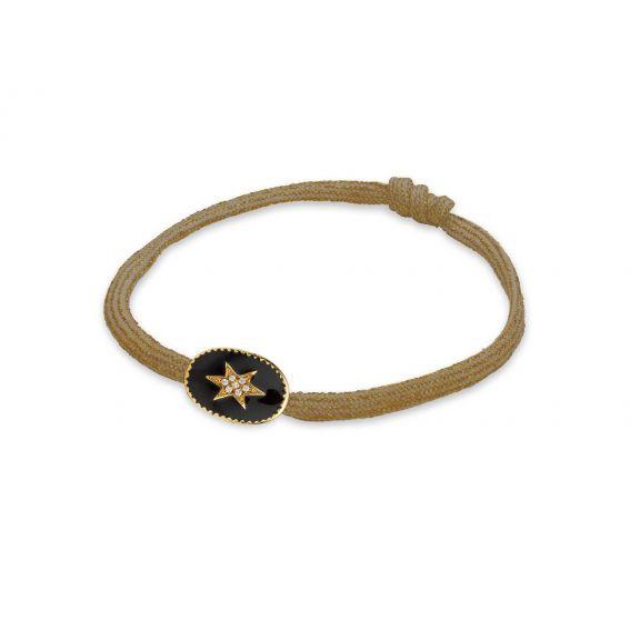 Bracelet MYA BAY cordon feuille - Bijoux Mya Bay
