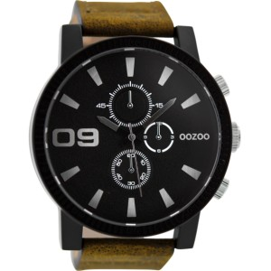 Montre Oozoo Timepieces C9033 brown/black - Montre de la marque Oozoo