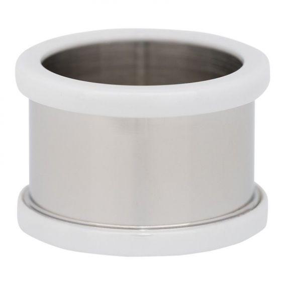 Base pour une bague iXXXi 12mm céramique blanche - Bijou marque iXXXi