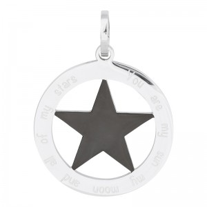 Pendentif You are my sun my moon and all of my stars de marque iXXXi