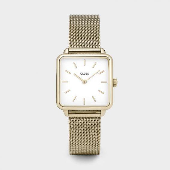 Montre CLUSE - La garçonne rose gold mesh/white - Bracelet acier