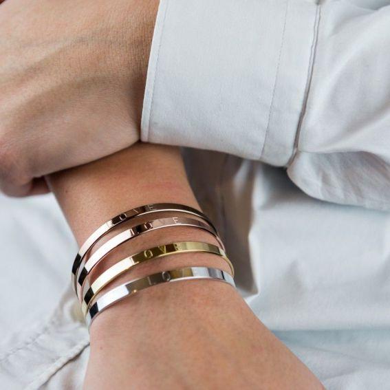 Bracelet Mya Bay Love argenté