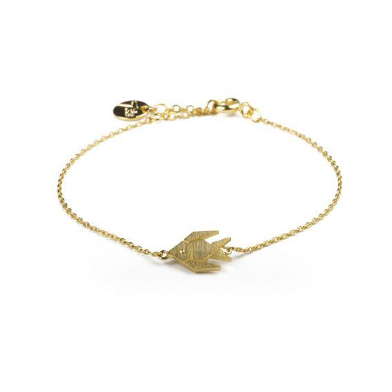 Bracelet 7bis poisson doré