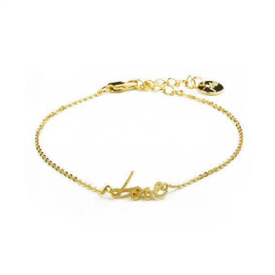 Bracelet 7bis love doré