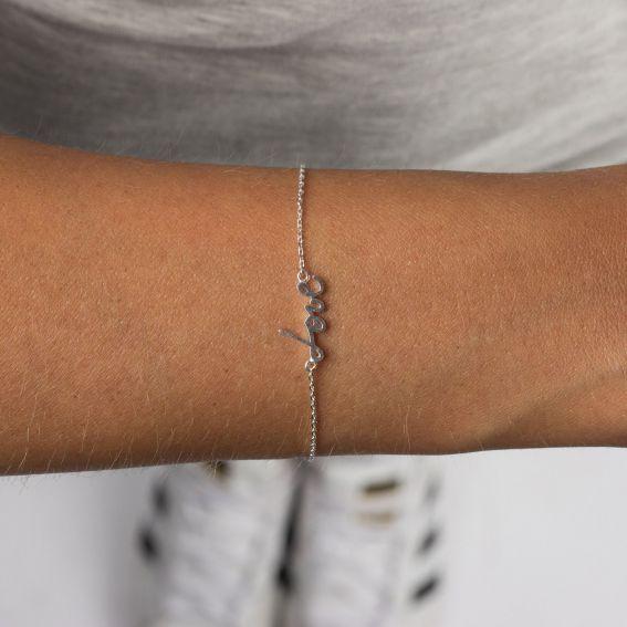 Bracelet 7bis love argenté
