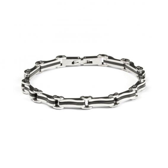 Bijoux bracelet homme segment chaîne de vélo