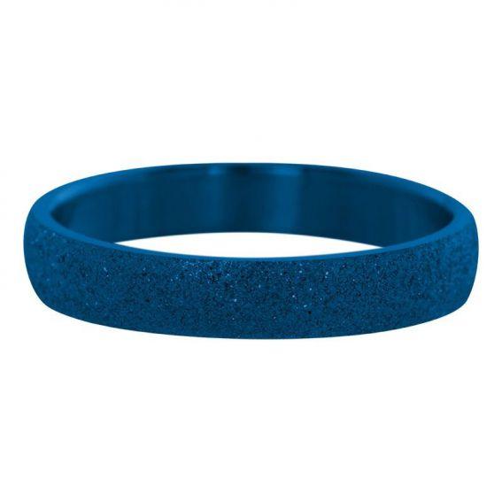 Anneau sablé bleu iXXXi - Bagues et bijoux de la marque iXXXi
