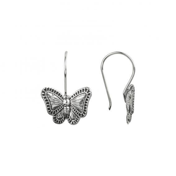 Crochets papillon en argent 925 - Boucles d'oreilles argent 925