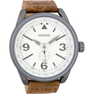 Montre Oozoo Timepieces C7066 brown/white - Montre de la marque Oozoo
