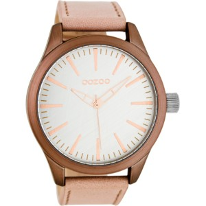Montre Oozoo Timepieces C7425 pinkgrey/silver - Marque Oozoo