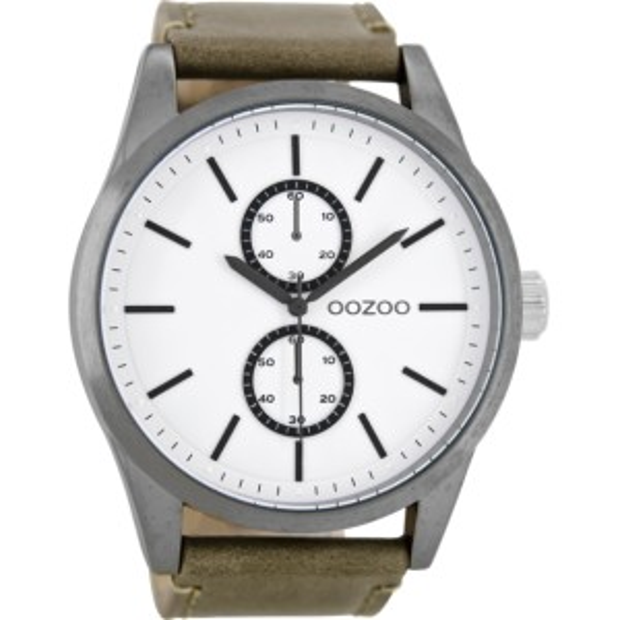 Montre Oozoo Timepieces C8511 grey/white - Montre de la marque Oozoo