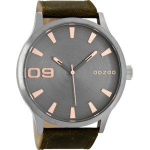 Montre Oozoo Timepieces C8531 brown/grey/rose - Montre de la marque Oozoo