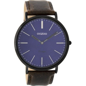 Montre Oozoo Timepieces C8807 dark brown/blue - Marque de montre Oozoo