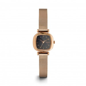 Moneypenny Royale Rose Gold Black - Montre de la marque KOMONO