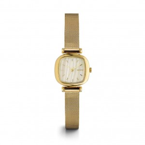 Moneypenny Royale Gold White - Montre de la marque KOMONO