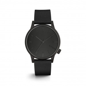 Winston Regal All Black - Montre de la marque KOMONO