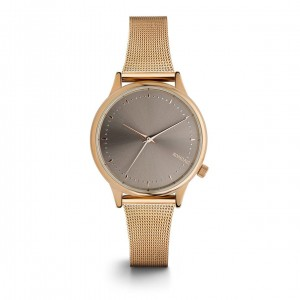 Estelle Royale Rose Gold Grey - Montre de la marque KOMONO
