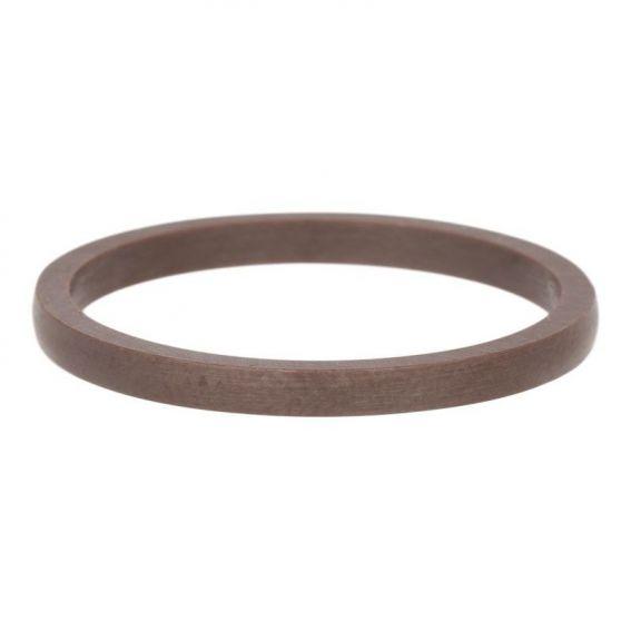 Anneau céramique bronze étroit iXXXi - Bague marque iXXXi