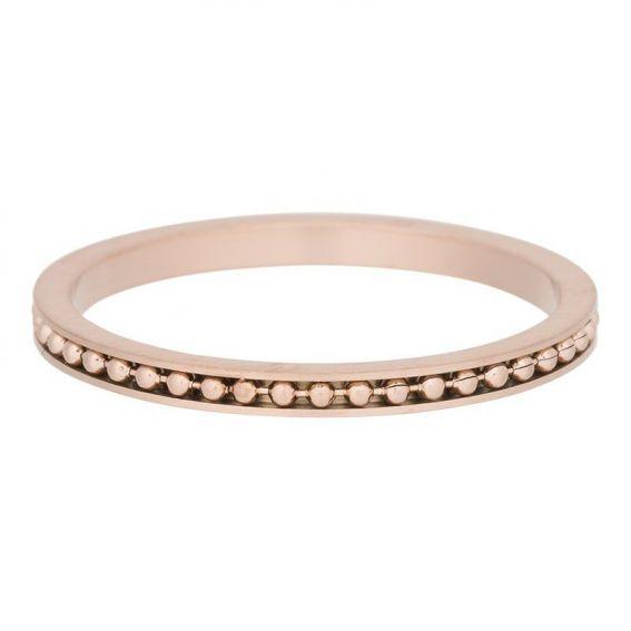 Anneau mambo mate rosé iXXXi - Bagues et bijoux de la marque iXXXi