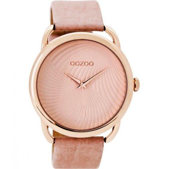 Montre Oozoo Timepieces C9161 pinkgrey - Montre de la marque Oozoo