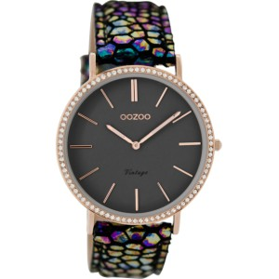 Montre Oozoo Timepieces C8887 dark rainbow - Marque de montre Oozoo
