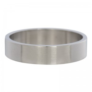 iXXXi - matte silver smooth ring
