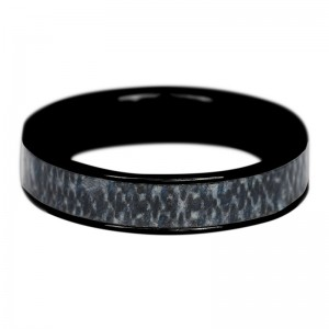 iXXXi - matt black jeans Ring