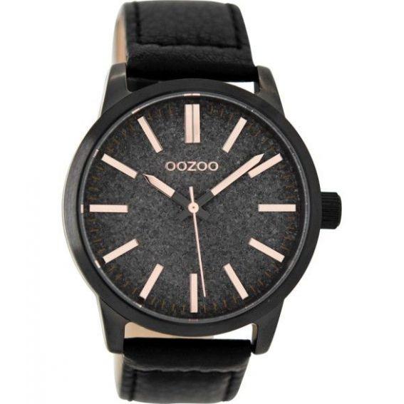 Montre Oozoo Timepieces C9068 black/rose - Montre de la marque Oozoo