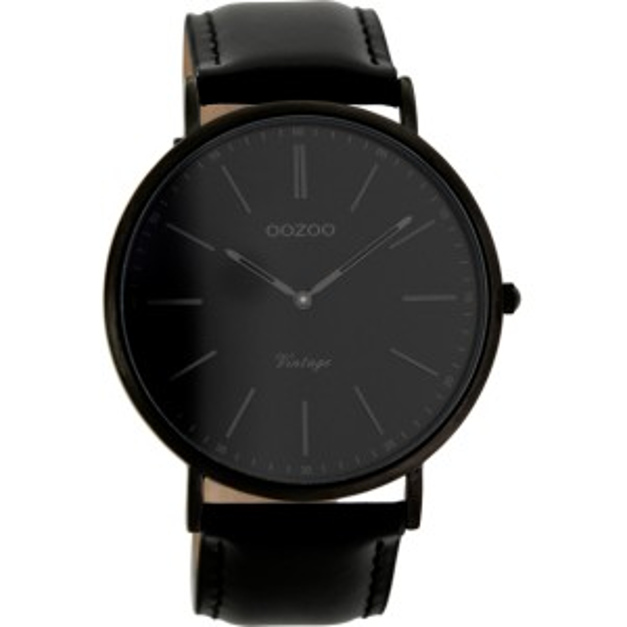 Montre Oozoo Timepieces C7301 black/grey indications - Marque de montre Oozoo