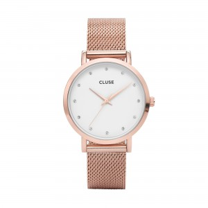 Cluse - Watch CLUSE - Pavane Rose Gold Stones