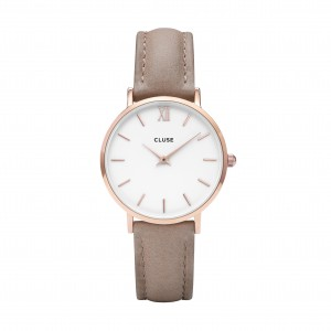 Cluse - Watch CLUSE - Midnight rose gold white / hazelnut