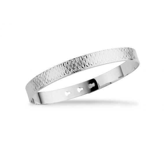Bracelet MYA BAY texture écaille de poisson - Bijoux de la marque Mya Bay