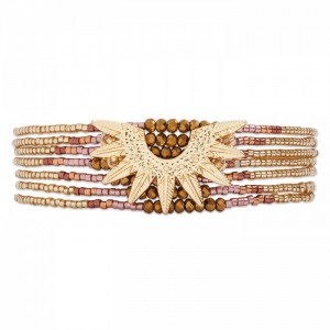 Hipanema - Marlowe gold bracelet