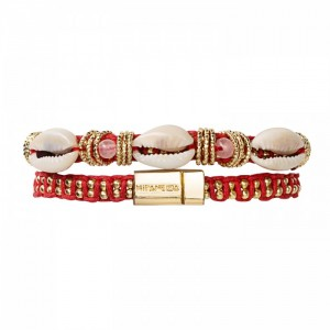 Bracelet Hipanema choker Ciloo red - Bijoux de la marque Hipanema
