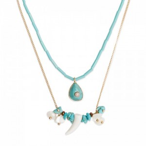 Hipanema - Tilos turquoise necklace