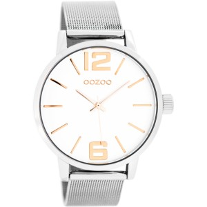 Montre Oozoo Timepieces C7976 silver / rose - Marque Oozoo