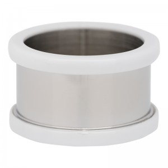 Base pour une bague iXXXi 10mm céramique blanche - Bijou marque iXXXi