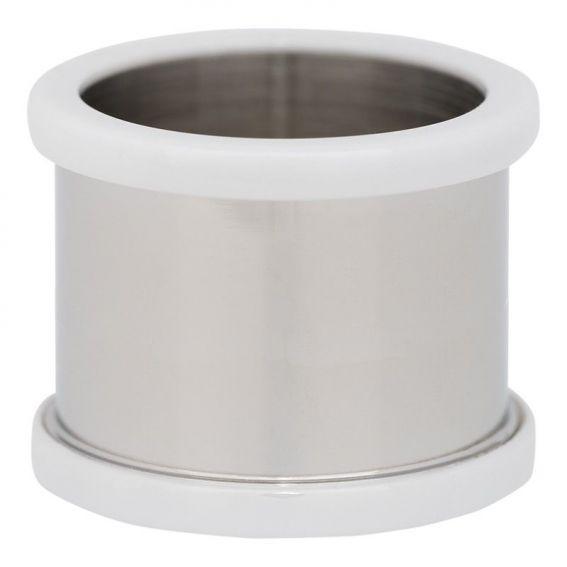 Base pour une bague iXXXi 14mm céramique blanche - Bijou marque iXXXi