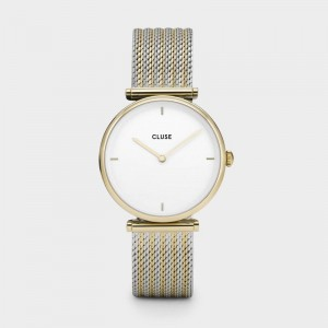 Cluse - Watch CLUSE - Triumph Gold bicolour mesh