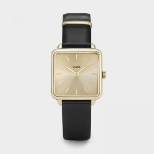 Cluse - Watch CLUSE - The Tetragon gold gold / black