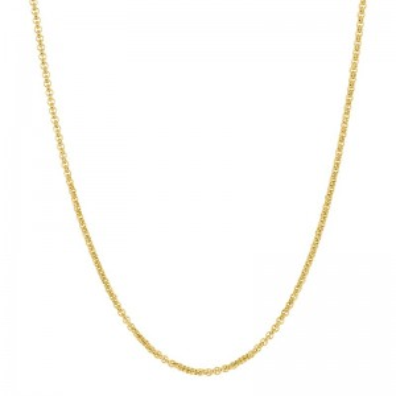 Chaîne iXXXi dorée 3mm de marque iXXXi - Bijoux iXXXi
