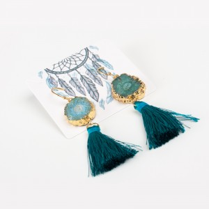 Bypa - Earrings turquoise stone