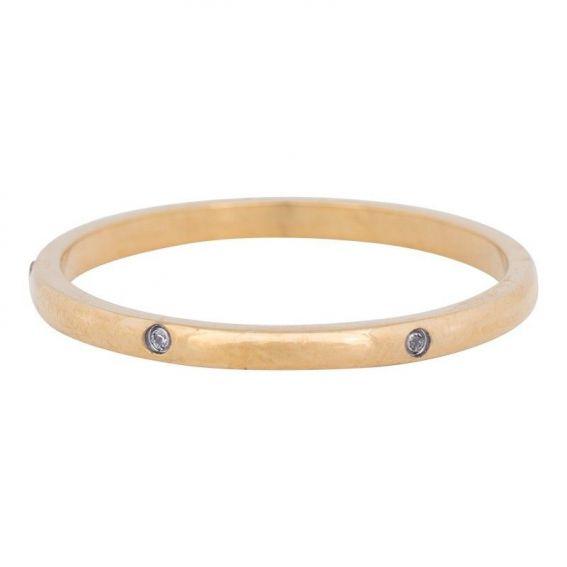 Anneau couvrant élégance doré iXXXi - Bague et bijoux marque iXXXi