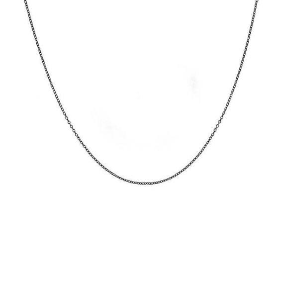 Chaîne iXXXi noire de marque iXXXi réglable en longueur - Bijoux iXXXi