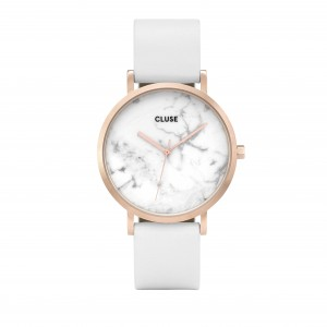Cluse - Watch CLUSE - The pink gold white marble rock