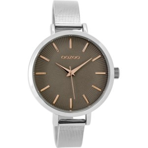 Montre Oozoo Timepieces C9493 silver taupe - Marque de montre Oozoo