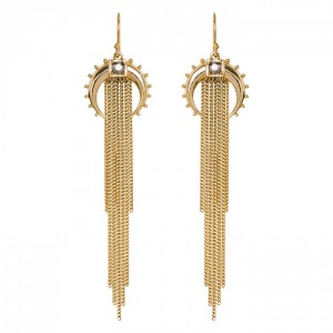 Hipanema - Earrings gold kashmir